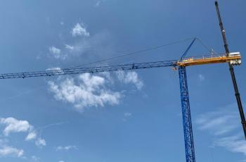 Montaggio Raimondi Mr 45 riverniciata cantiere di Veniano (CO)